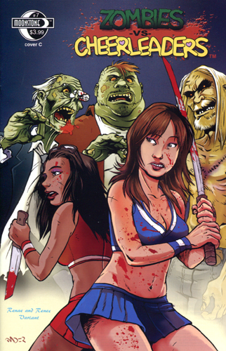365. Zombies vs Cheerleaders #7C